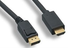 Picture of 3' Display Port to HDMI Cable